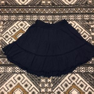 Old navy peasant skirt above knee length